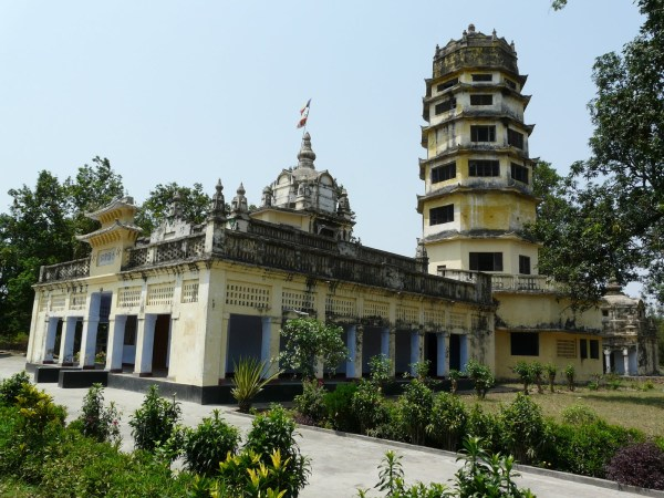 Monastery and Pagoda at Sravasti | Sarson ke Khet