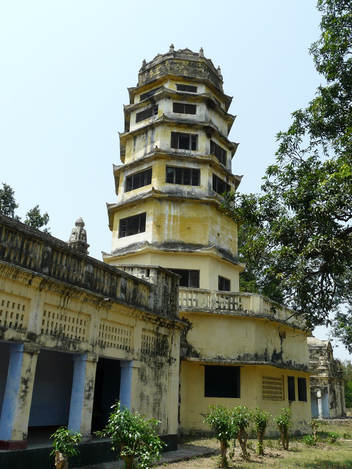 Monastery and Pagoda at Sravasti | Sarson ke Khet