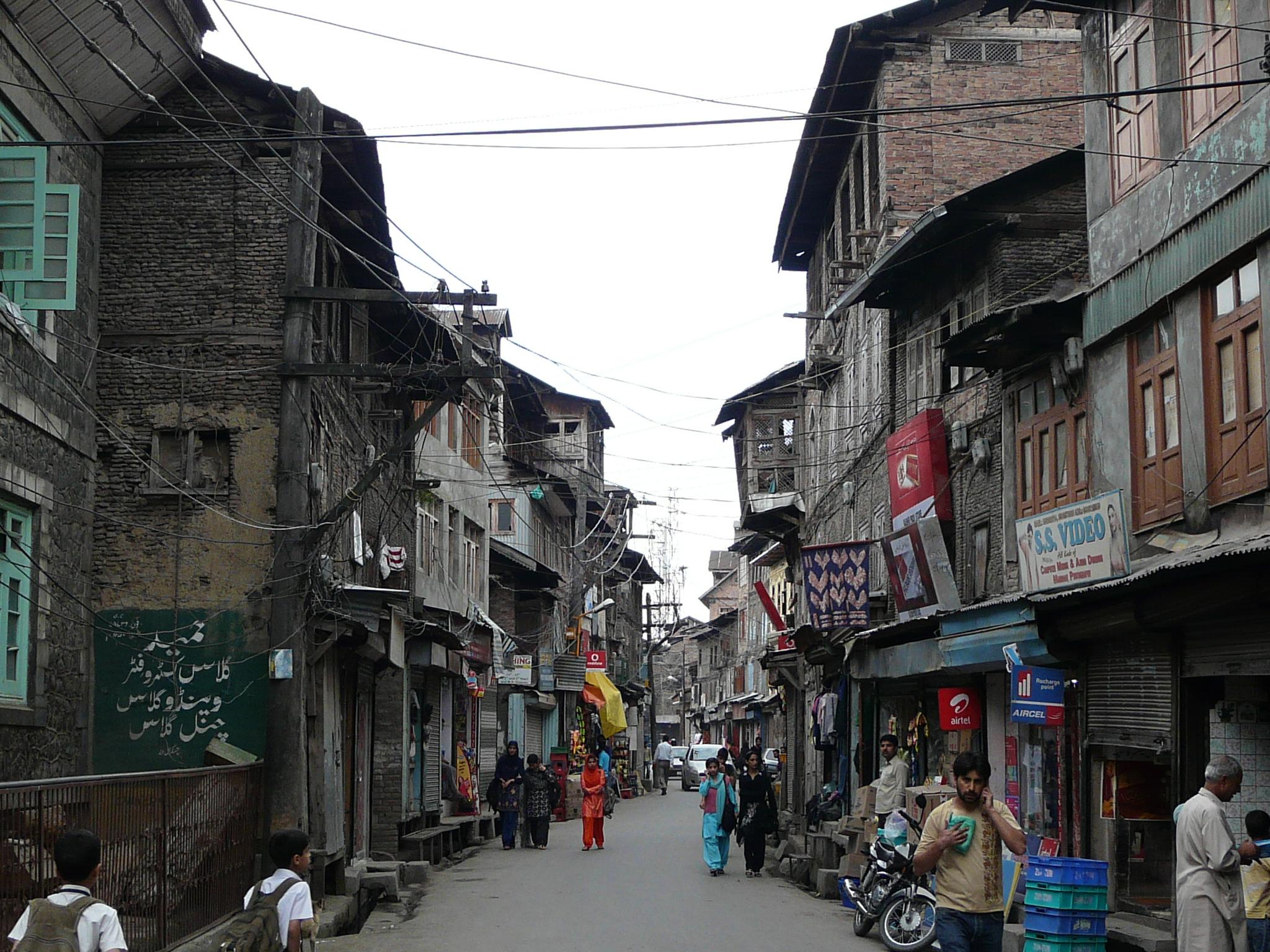 City Of South Gate >> Walking Through Downtown Srinagar | Sarson ke Khet