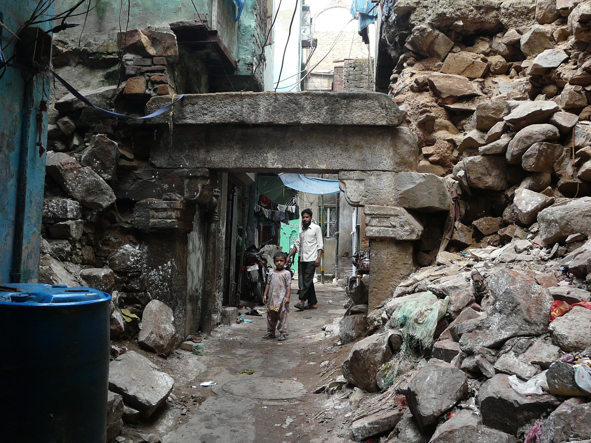 Qadam Sharif And Nearby Qutb Road Structures | Sarson ke Khet