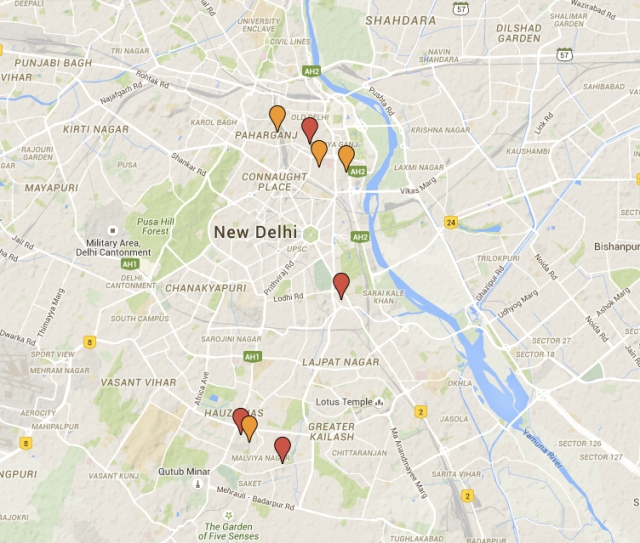 7 mosques map